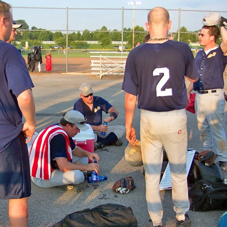 Ideal Boltz softball tournament over the Fourth of July.