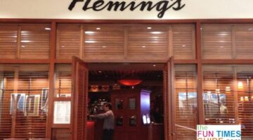 Nashville Flemings Steakhouse Restaurant Review