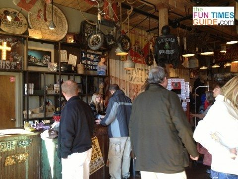 people shopping in American Pickers store Nashville
