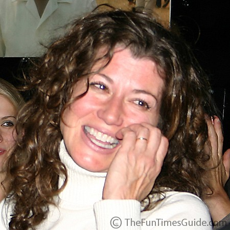 Amy Grant is all smiles all the time.