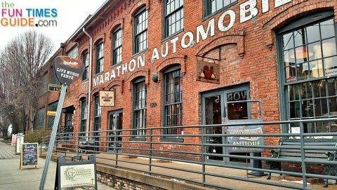 antique archeolog nashville tn - american pickers shop