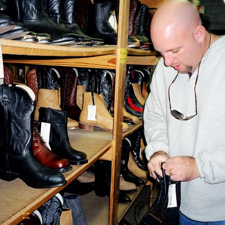 Georgia Boot Factory in Nashville, Tennessee.