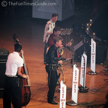 BR549 performing at the Grand Ole Opry in Nashville.
