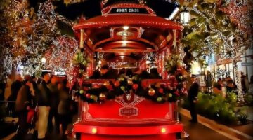 Franklin's Holly Trolley Holiday Lights Tour
