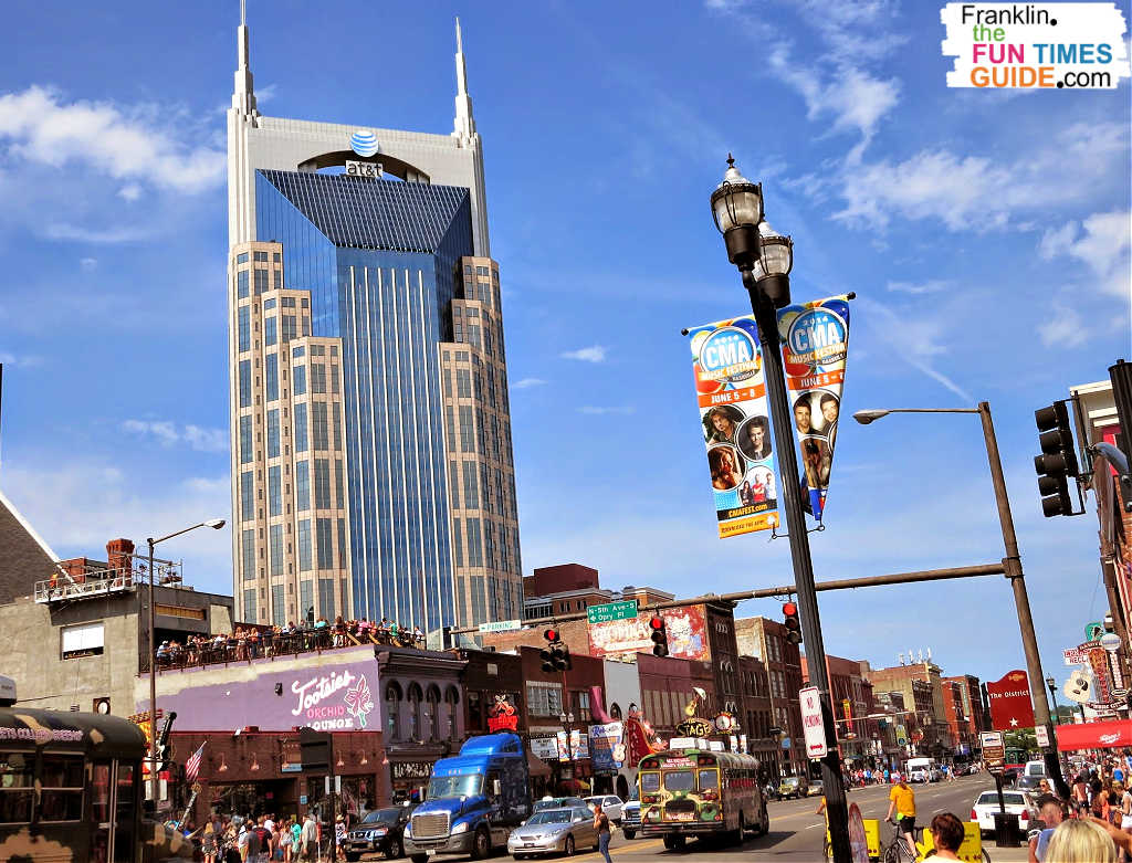 The Country Music Association's award show in June is always a fun time. There are lots of free events with celebrities that take place during CMA week in Nashville.