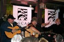 Tony Mullins, Craig Wiseman and Bobby Terry at a songwriters night at Puckett's Grocery - Leipers Fork, Tennessee.