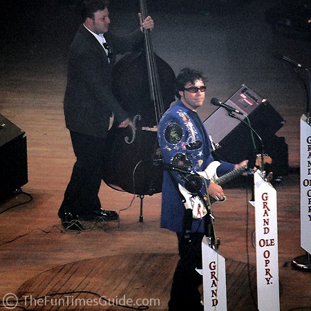 Eric Heatherly performing at the Grand Ole Opry.