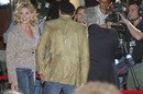 Faith Hill and Tim McGraw in their hometown of Franklin, Tennessee for the movie premiere of Billy Bob Thornton's movie 'Friday Night Lights'.