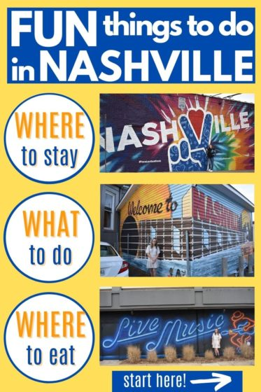 A thorough list of fun things to do in Nashville TN