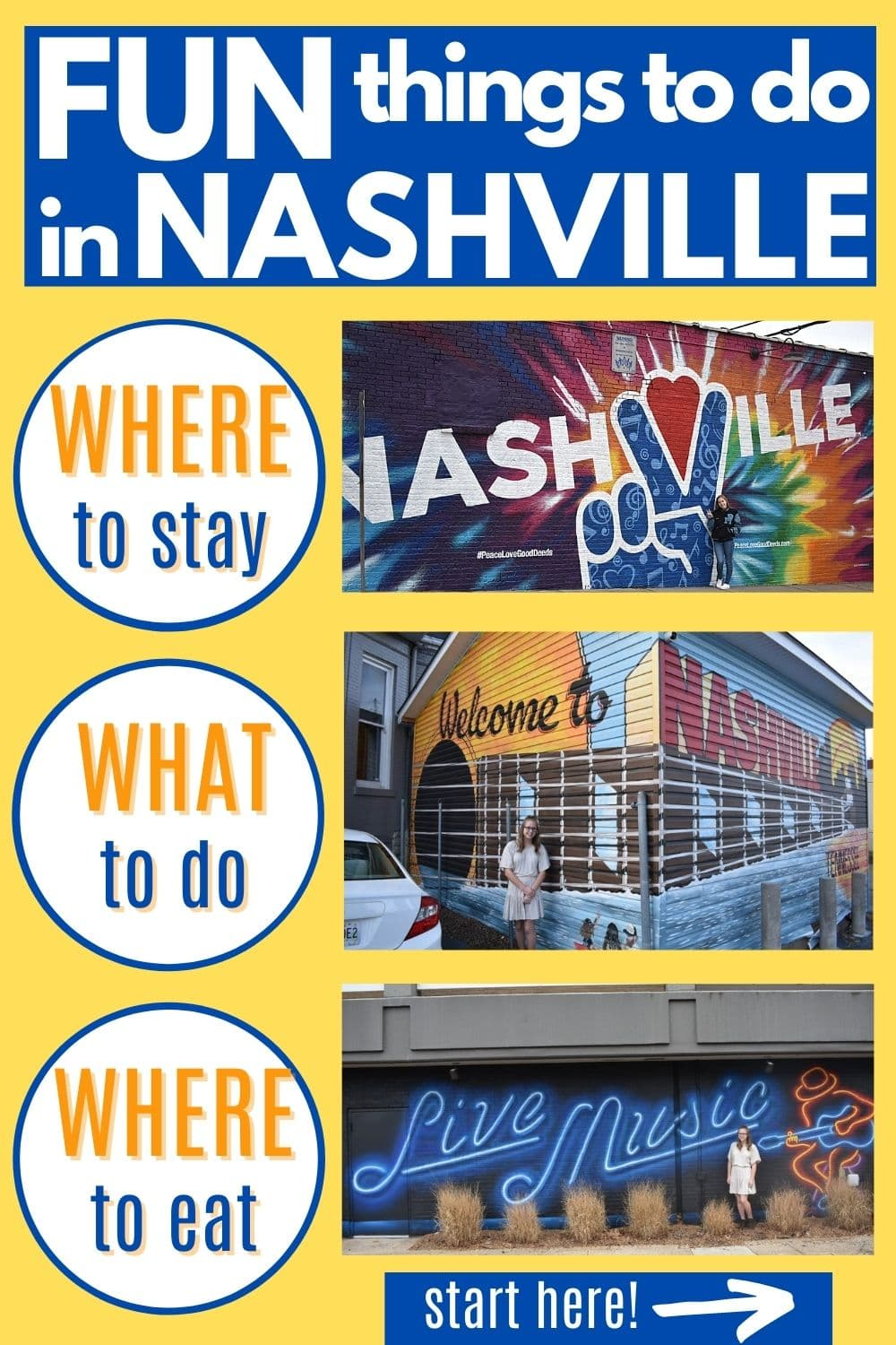 Visiting Nashville For The First Time? Tips From A Local + Things You Definitely Must Do While You\'re In Music City