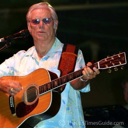 George Jones performing at the Williamson County Fair in Franklin, Tennessee.