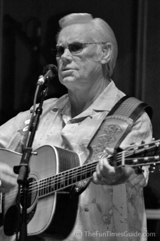 George Jones at the Williamson County Fair in Franklin, Tennessee.