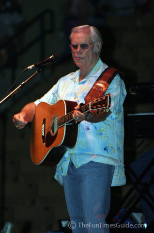 George Jones at the Williamson County Fair.