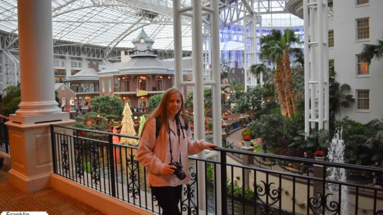 Taking pictures inside the Opry Hotel in Nashville -- It's such a fun place to visit!