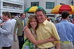 Jeannie and John at the 2005 Kentucky Derby.