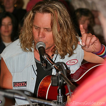 Jeffrey Steele in the moment.