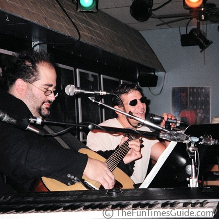 Jim Reilley and Jeff Carter at the Bluebird in Nashville.