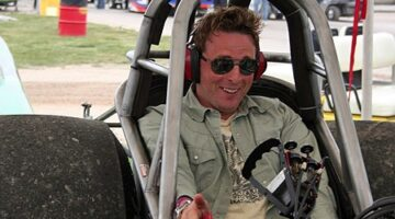 Johnny Reid Is A Singer… A Songwriter… And A Race Car Driver?