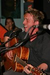 Johnny Reid at the Bluebird Cafe in Nashville, Tennessee.