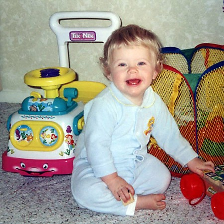 Karly at one year of age.