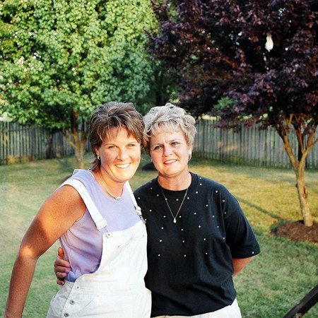 Lynnette and Kay at our home in Nashville.