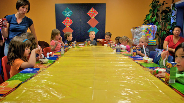 Kids Birthday Party. photo by by D'Arcy Norman on Flickr
