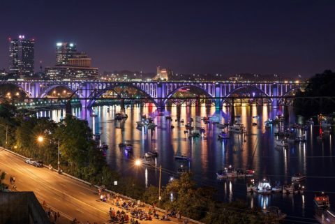 Downtown Knoxville live music venues