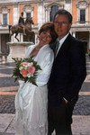 Laura and Paul got married in Rome, Italy, February 21, 2005.
