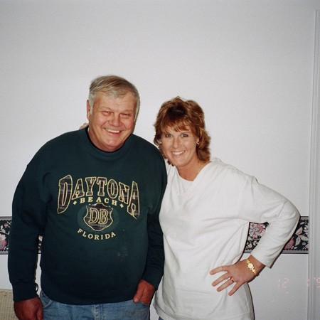 Lynnette's dad visited us in Pensacola a couple weeks before joining us on our wedding cruise.