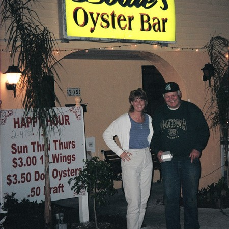 We had dinner at the Oyster Bar when dad came for a visit.