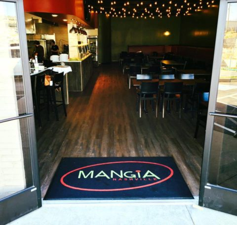 Mangia Nashville located on Craighead Street in Berry Hill, TN - the Melrose area of Nashville.