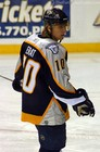 Martin Erat of the Nashville Predators.