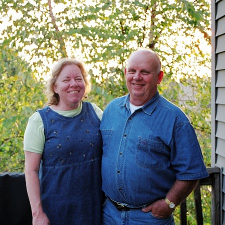 Jim's parents - Elouise and Dick.