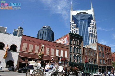 honky tonks and high rises are some top nashville tn attractions