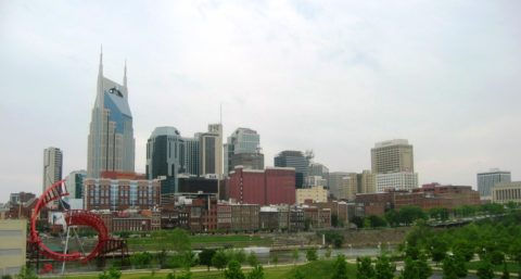 Here's a look at Nashville's beautiful skyline.