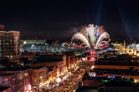 We've got some great tips for viewing Nashville's 4th of July fireworks show!