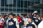 April 2004 playoff game - Nashville Predators vs Detroit Redwings.