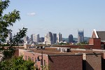 Nashville Skyline as viewed from the Belmont campus.