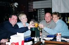 Playing NTN Trivia with Mike and Kelly a couple years ago at Damon's in Kokomo during our Christmas vacation.