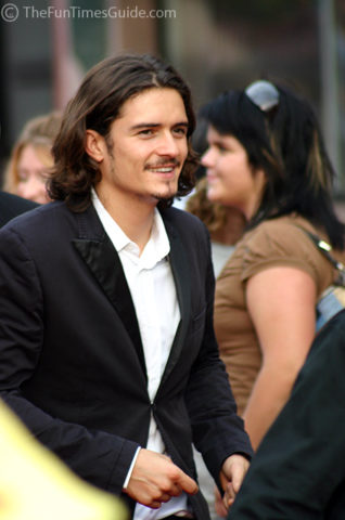 Orlando Bloom was in Franklin, Tennessee... but not for long!