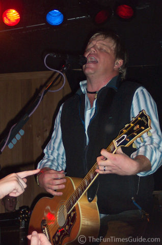 Pat Green rocking out at The Trap in Nashville, Tennessee.