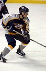 Paul Kariya number 9 on the Nashville Predators team.