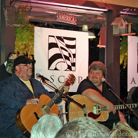 Tony Mullins and Craig Wiseman at Puckett's.