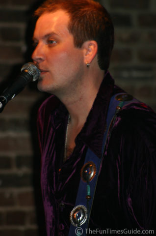 Scott Holt at the microphone.