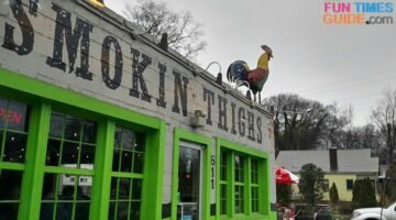 One Of The Best Nashville Food Trucks Became A Popular Nashville Restaurant – Our Review Of Smokin Thighs!