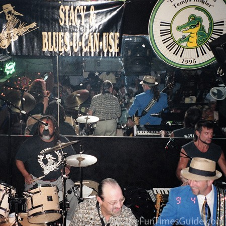 Stacy Mitchhart and all the Blues you can use at Bourbon Street Blues & Boogie Bar in Nashville.