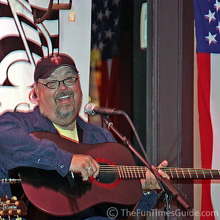 Tony Mullins performing at Puckett's Grocery in Leipers Fork.