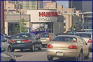 NewsChannel5 captured this picture of Nashville traffic in front of the new Hustler Hollywood store.