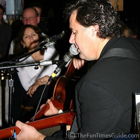 Vince Gill singing at the Bluebird.