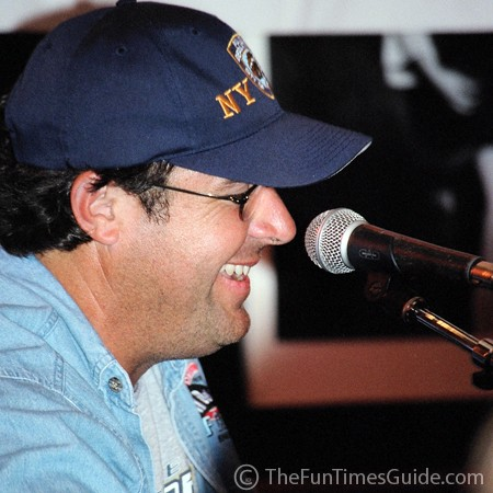 Vince Gill close up and personal at the Bluebird Cafe in Nashville.